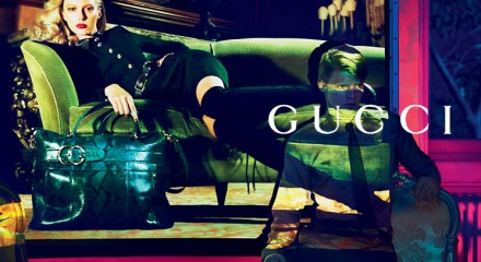 """Gucci AW11 - fashion art direction"""