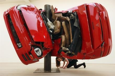 Untitled (Crash 1) by Dirk Skreber