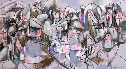 GEORGE CONDO - Hayward Gallery