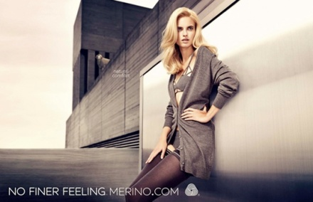 Fashion Advertising Merino Wool